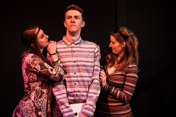 Tasha O'Brien, Teale Howie and Lucy Quill