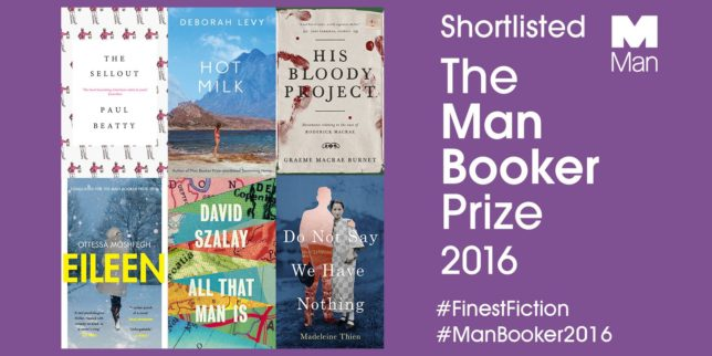 American authors among 6 Booker Prize finalists
