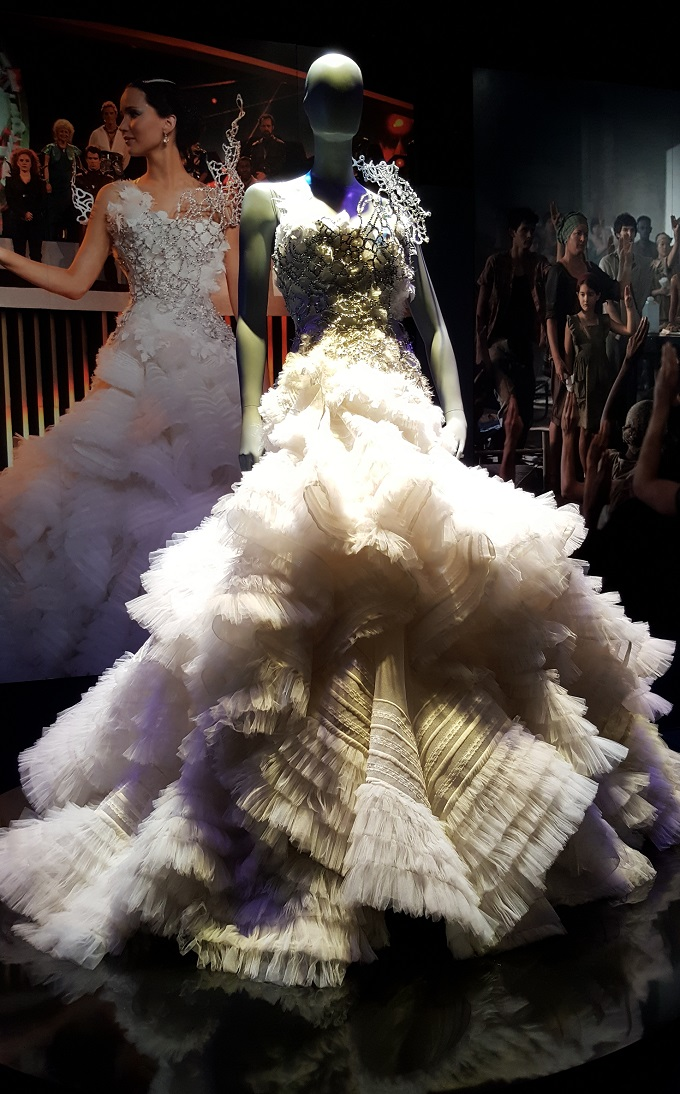 Jennifer Lawrence wore this beautiful creation in The Hunger Games - Catching Fire