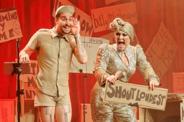 The Miss Behave Gameshow, Sydney Opera House. Photo: Prudence Upton.