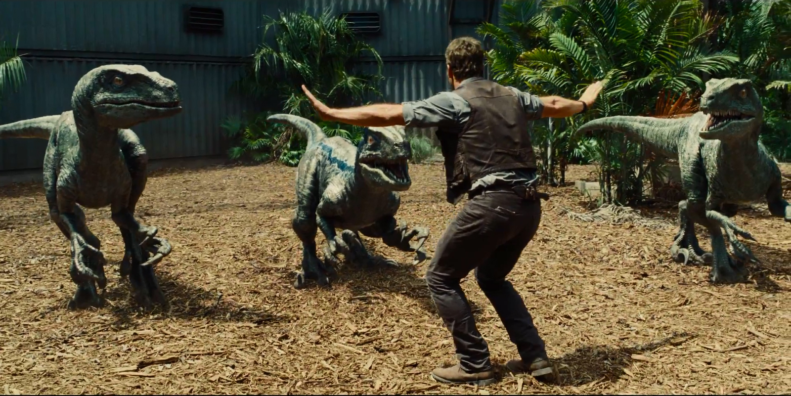 jurassic world raptors
