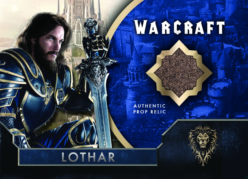 Relic Card: Travis Fimmel as Anduin Lothar, The Topps Company