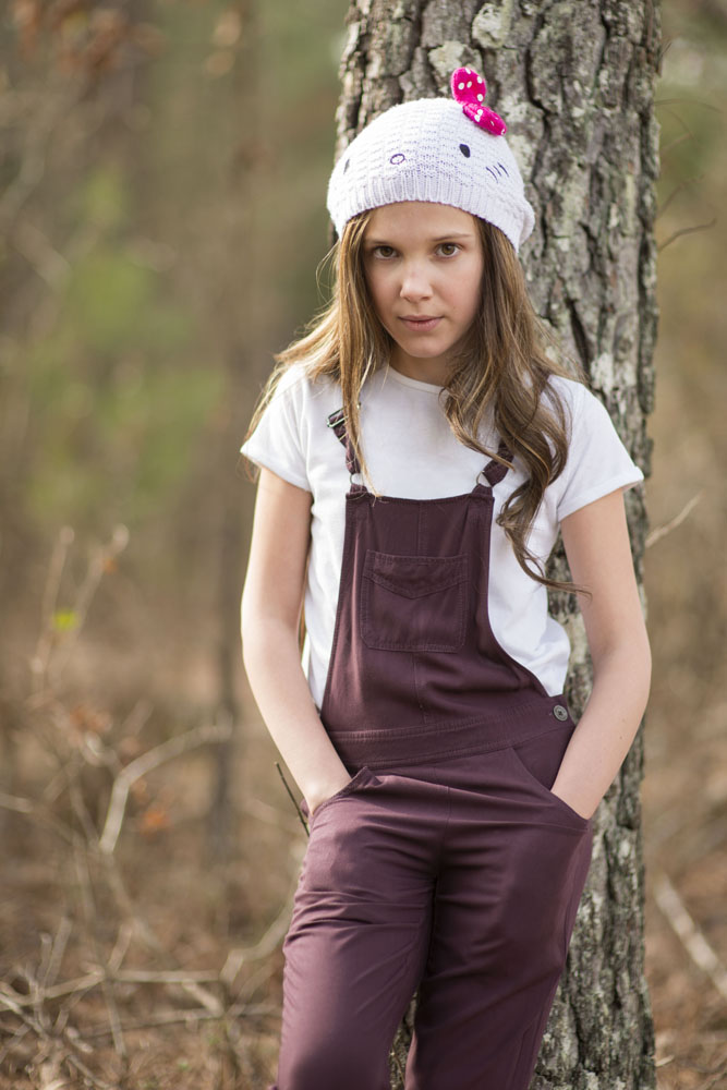 Millie Bobby Brown who plays 'Eleven'