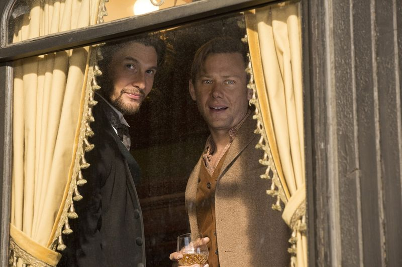 Two new guests - Ben Barnes and Jimmi Simpson arrive at the park,