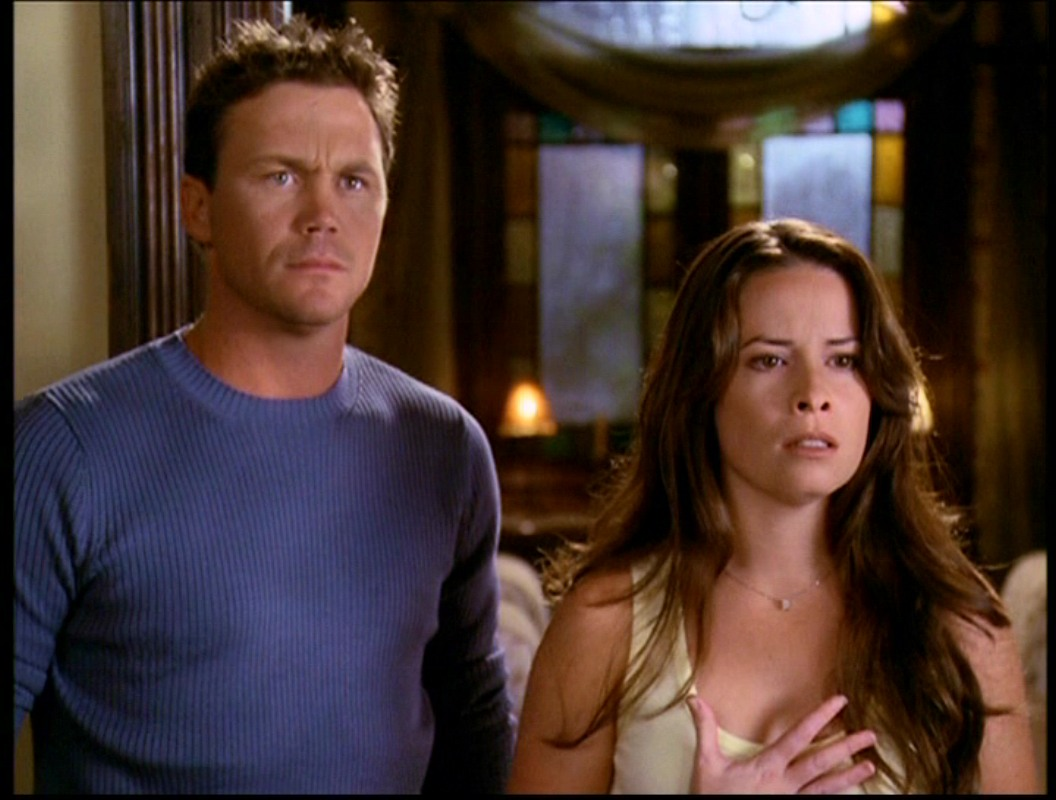 Brian Krause & Combs as Piper and Leo | The WB